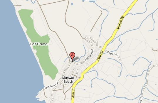 Muriwai Map